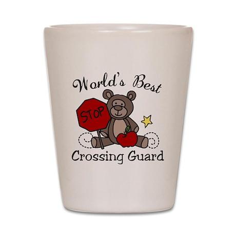 Crossing Guard Shot Glass