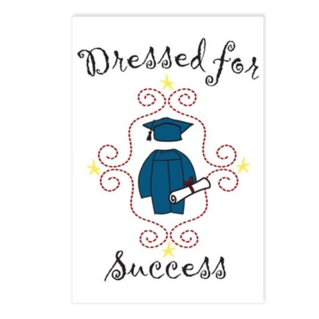 Dressed For Success Postcards (Package of 8)