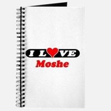 I Love Moshe Journal
