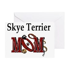 Skye Terrier Mom Greeting Card