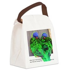 Gathered In My Name Canvas Lunch Bag