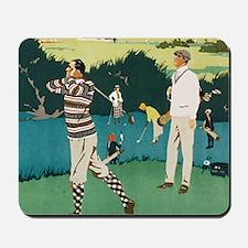 Vintage Golf Mousepad