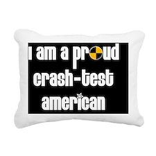 proud crash Mpad Rectangular Canvas Pillow