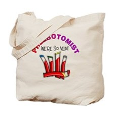 phlebotomist were so vein Tote Bag
