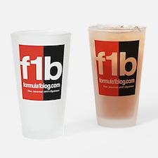 F1B Austin back Drinking Glass