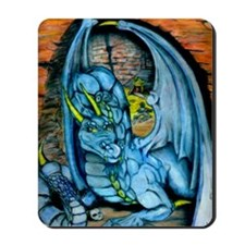 Blue Dragon Large Print Mousepad