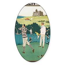 Vintage Golf Decal