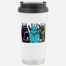 nurse cat NO BACKGROUND Travel Mug