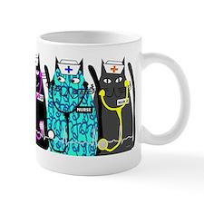 nurse cat NO BACKGROUND Mug