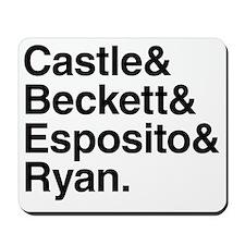 Castle Characters Mousepad