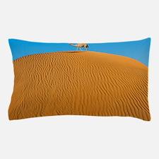 Camel In Desert Pillow Case