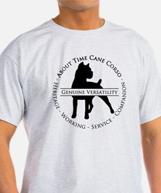 About Time Cane Corso Logo (Black) T-Shirt