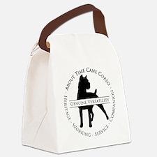 About Time Cane Corso Logo (Black Canvas Lunch Bag