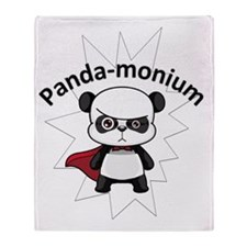 PandaMonium Throw Blanket