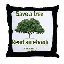 Save a Tree Throw Pillow