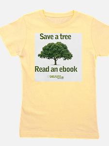 Save a Tree Girl's Tee