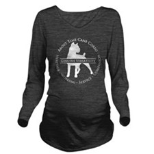 About Time Cane Cors Long Sleeve Maternity T-Shirt