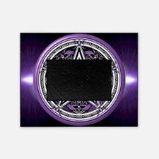 Purple Crow Pentacle Picture Frame
