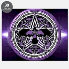 Purple Crow Pentacle Puzzle