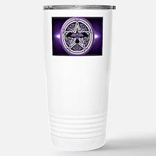 Purple Crow Pentacle Travel Mug