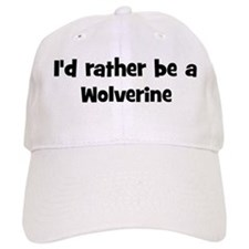 Rather be a Wolverine Baseball Cap