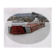 Roger Blough departs Duluth Throw Blanket