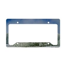 Frosted Clearing License Plate Holder