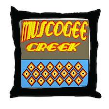 MUSCOGEE CREEK Throw Pillow