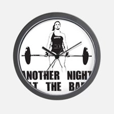 Another Night at the Bar Wall Clock