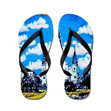 New Orleans is UFO Country #2 Flip Flops