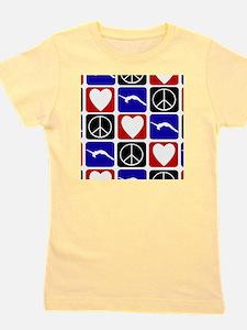 Peace Love Tumble Girl's Tee