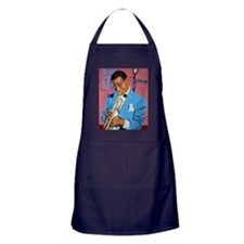 Satchmo on Bourbon Street Apron (dark)