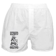 Optimists Society End of the World Me Boxer Shorts