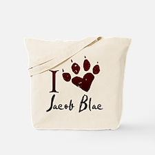I heart Jacob Black Tote Bag