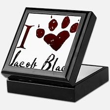 I heart Jacob Black Keepsake Box