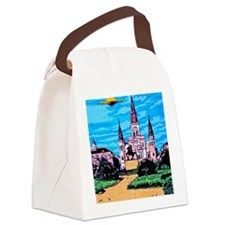 New Orleans is UFO Country #1 Canvas Lunch Bag
