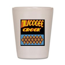 MUSCOGEE CREEK Shot Glass