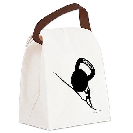 Sisyphus Kettlebell Tenacity Canvas Lunch Bag