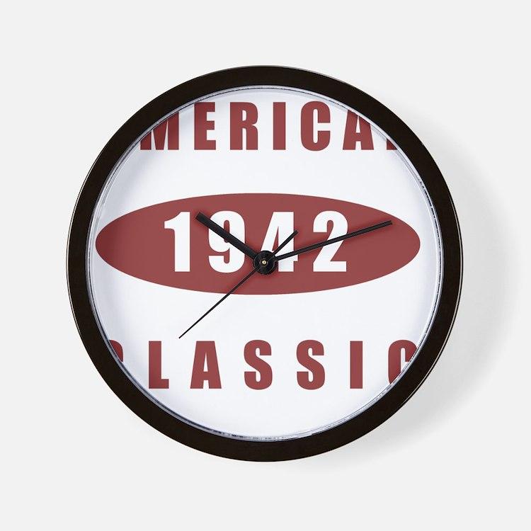 1942 American Classic Wall Clock