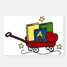 Book Wagon Postcards (Package of 8)