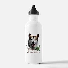 Alaskan Malamute Chris Water Bottle