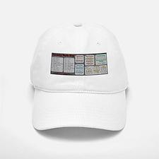 Chemistry Study Tables - Dark Baseball Baseball Cap