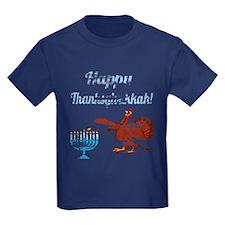 Vintage Happy Thanksgivukkah 4 T-Shirt