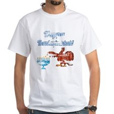 Vintage Happy Thanksgivukkah 4 T-Shirt