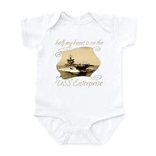 Funny Cvn65 Infant Bodysuit