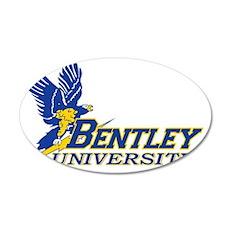 BENTLEY UNIVERSITY 35x21 Oval Wall Decal