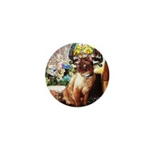 Tonkinese under Tiffany Lamp Mini Button