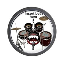 Drumface Wall Clock
