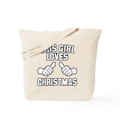 This Girl Loves Christmas Tote Bag
