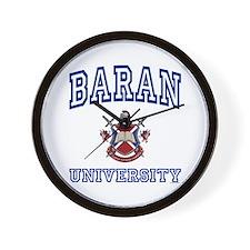 BARAN University Wall Clock
